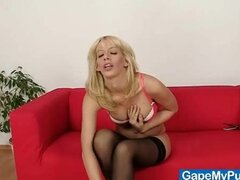 blonde girls naked from KeezMovies